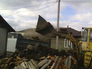 Услуги очистка участков территории снос домов вывоз мусора хлама демонтаж сооружений бетоновырубка