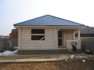 Деревянные дома в сруб в Молдове, бани , беседки,