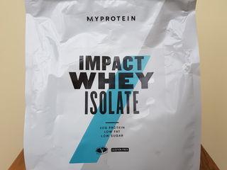 Myprotein - proteina impact whey isolate si clear whey isolate  My Protein ( izolat de zer )