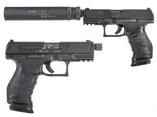 Walther PPQ M2 NAVY оружие спецназа + кобура Fobus( Израиль ).Максимально выстрелили 200 патронов.
