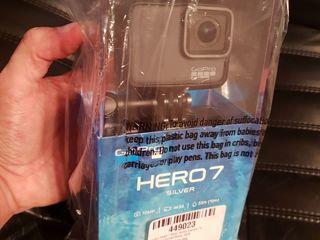 GoPro Hero 7 white GoPro Hero 7 silver новые запечатанные 190$/250$