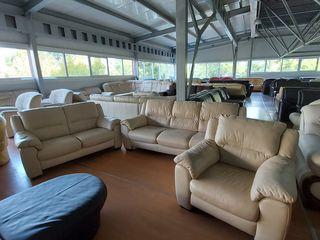 Кожаная мягкая мебель 3,2,1. Германия.