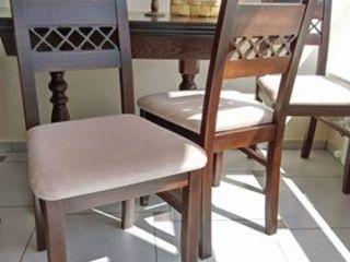 Scaun JUR7 - scaunul perfect pentru casa ta, prelucrare impecabilă,lemn natural!