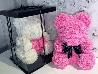Акция мишка из роз для твоей любимой! Всего 450 лей