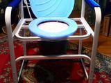 Новые кресло-туалет, столик для кормления,подставка под спину, cиденье для ванны