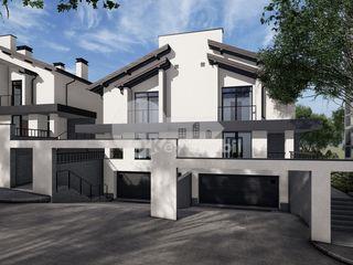 Duplex în 2 nivele, 175 mp + teren 3 ari, versiune albă, Stăuceni, 125000 €!