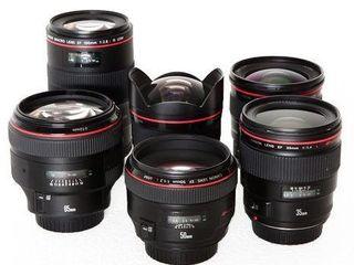 Куплю профессиональные объективы Canon