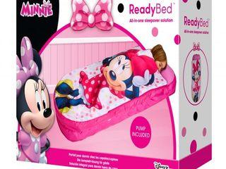 Надувная кровать и спальный мешок 2 в 1 Minnie Mouse