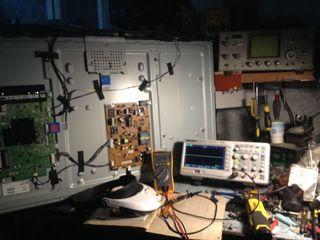 Профессиональный ремонт плазменных, LCD LED Smart-TV.Ремонт LED подсветки.