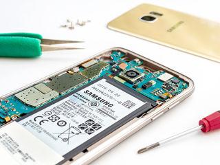 Ремонт телефонов i планшетов Samsung.