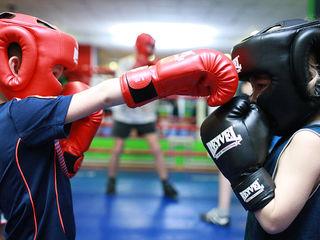 Набор детей в секцию бокса