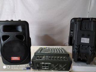 Mixer-usiliteli activ ,, Yamaha Mx-2000'',,  Boxe - 2000 W. !!! tot la 420 euro