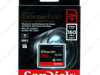 UDMA 7 card Sandisk 256 gb