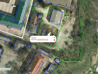 9 ari pentru constructie in centrul or. Orhei, in spatele Consiliului Raional, linga park...