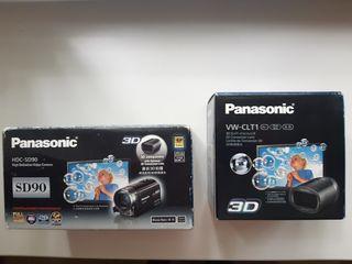 Продаётся  новая  Full HD 3D видеокамера Panasonic HDC-SD90.