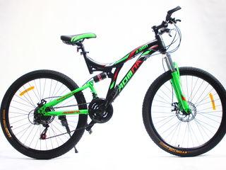 Biciclete de munte cu 2 amortizatoare.,posibila achitarea in rate.