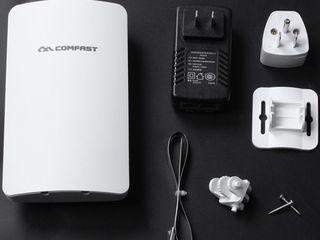 Репитер, точка доступа, усилитель Wi-Fi на более 500 метров Comfast на 2.4GHz и 5.8GHz