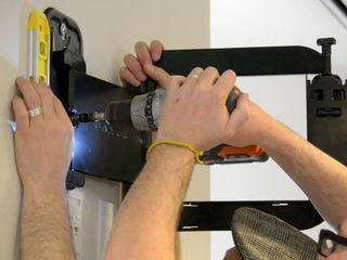 Монтаж телевизоров, навеска ТВ кронштейнов на стену.Instalare Montare Suport tv led LCD plasma Crons