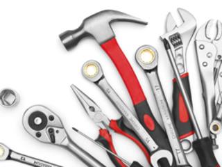 Слесарный инструмент, крепеж, средства инидвидуальной защиты, спецодежда