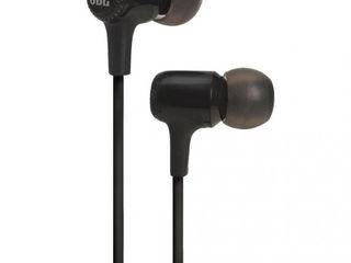 Вакуумные Наушники JBL E15 Black JBLE15BLK С Микрофоном