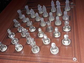 3in 1 Cristal Game set {Sahmate...Narde}