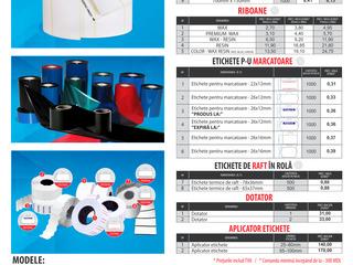 Etichete termice pentru imprimante şi cîntare
