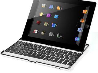 Клавиатура-кейс блютуз для iPad- 299 Lei! (Bluetooth aluminium keyboard for iPad)