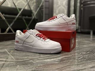 Nike Air Force 1 Low Supreme White Unisex