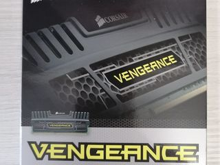 Corsair Vengeance 16 ГБ (2x8 ГБ) DDR3 1600 МГц CL10 XMP CMZ16GX3M2A1600C10 1,50 В Черный