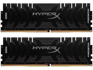 Продам память DDR4 16GB (Kit of 2x8GB) Kingston HyperX Predator 2666Mhz