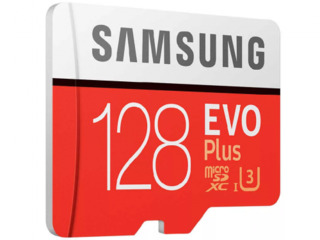 MICRO SD 128GB SAMSUNG EVO PLUS classa 10  4k full HD..  NEW NOUĂ..
