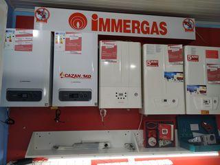 Cazane pe gaz în condensare | газовые конденсационные котлы: Immergas | Cazan md