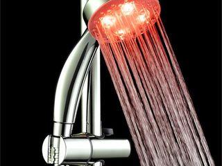 Душ с подсветкой воды для ценящих уют, красоту и оригинальность