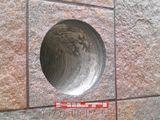 Вентиляционные  отверстия  методом - алмазного сверления  - чисто. Работаем техникой Hilti