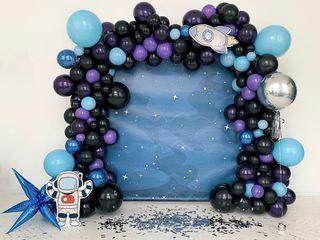 Decor din baloane; декор; panou; plicuri; bomboniere