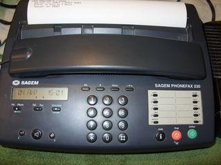 телефон факс Sagem Phonefax 230