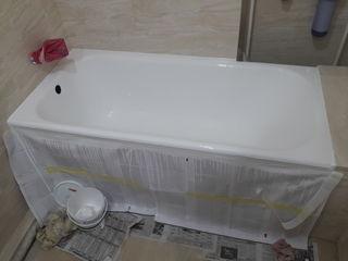 Реставрацыя  металических и чюгуных ванн   restaurare cazilor de baie