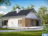 Casa din cotelet 100 mp la doar 42000 varianta alba