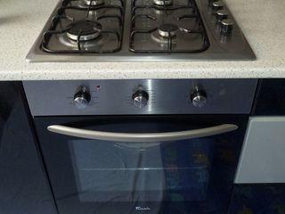 Set: cuptor incorporabil electric + plită încorporabilă pe gaz