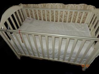 Кроватка италия меньше чем за полцены, с ортопедическим матрасом.