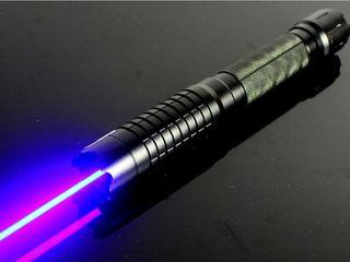 Мощная лазерная указка синего цвета Оригинальный подарок