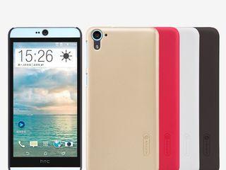 HTC Desire 826 чехол Nillkin Frosted Shield + защитная плёнка