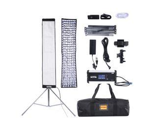 Soonwell FB-408 Гибкий светодиодный свет 100Вт, Bi-Color, размеры 121 x 24 см