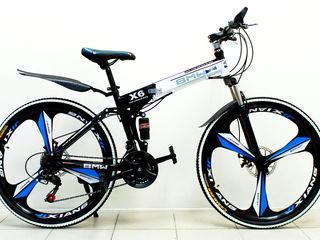 Велосипеды c литыми дисками! Гарантия 12 м! Доставляем по всей Молдове!