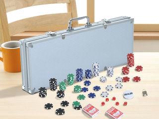 Poker Set de 500 cipuri. Покер набор.