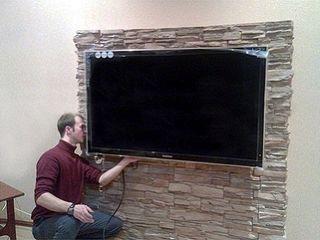 Монтаж и установка телевизоров LCD, LED, Plasma на стену. Качественно. Мастер.