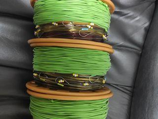 Готовые 4 готовые резинки 150м лески 60м резины