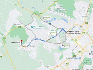 Teren cu destinație pentru construcții, 4.5 ari, Durlești, 15000 €