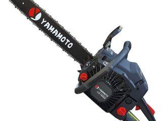 Ferăstrău pe benzină Yamamoto CS 4552-livrare gratuita-garantie 1an-credit!