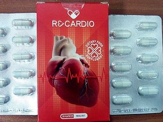 Капсулы от гипертонии Recardio - средство для сердечно-сосудистой системы